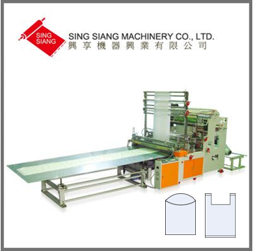 Two Layer Two Line Bottom Sealing Bag Making Machine