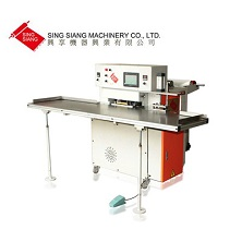 Semi Automatic Soft Loop Bag Making Machine