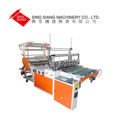 Twin Servo Motor Driven Side Sealing bag Making Machine